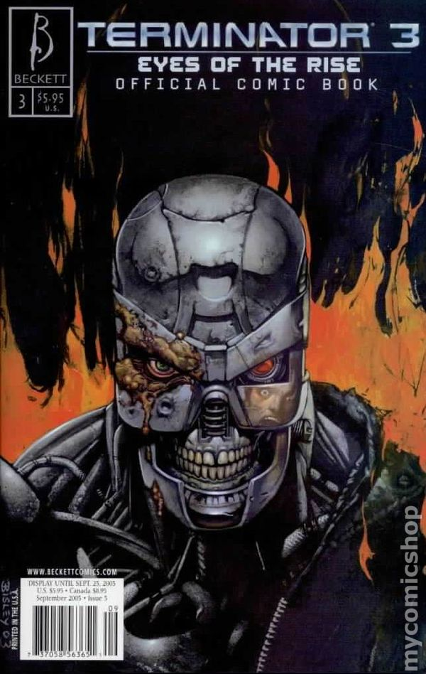 Terminator 3 Before The Rise 2003 Comic Books