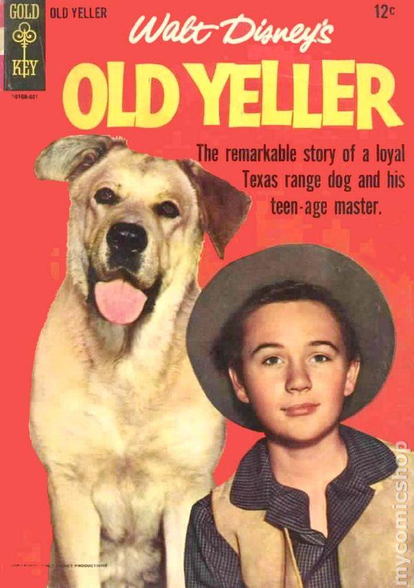 Old Yeller Movie Comics Comic Books