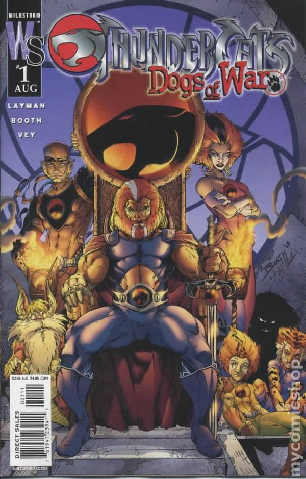 ThunderCats Comic Books Issue 1