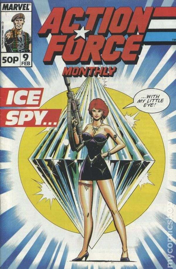 Action Force Monthly (UK) Comic Size comic books
