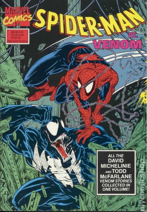 Image result for spiderman vs venom comic cover