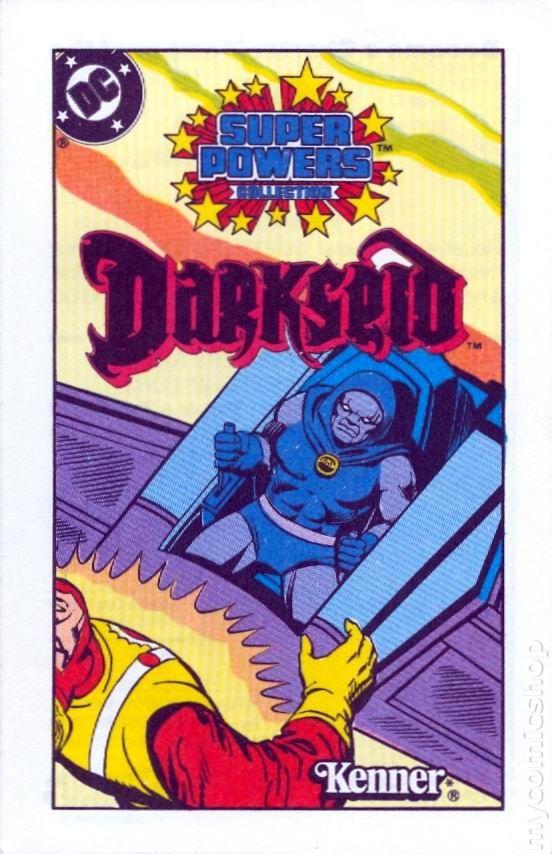 Super Powers Collection Mini Comic 1983 Comic Books