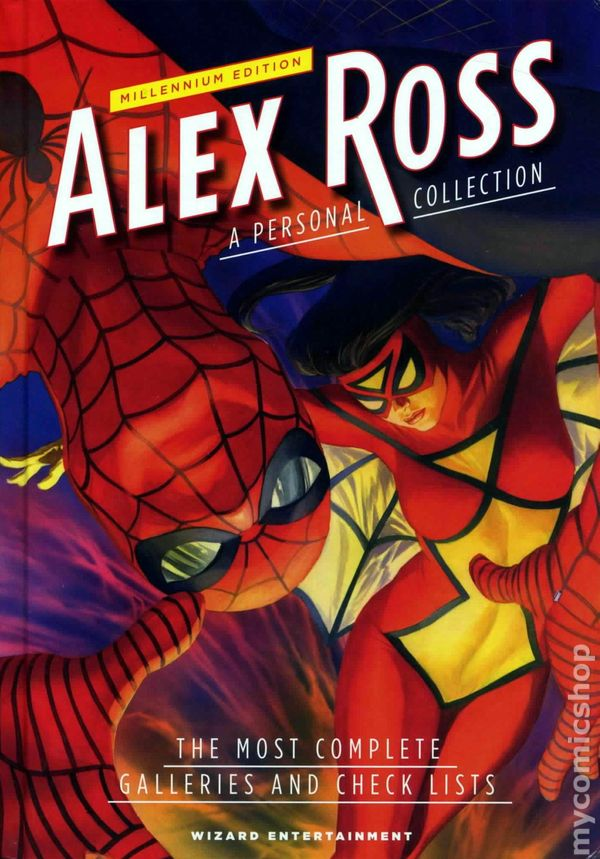 Alex Ross A Personal Collection HC (2009 Wizard) Expanded ...