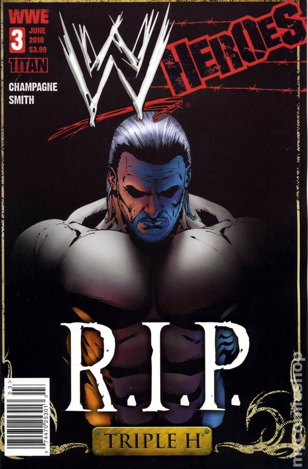 WWE Heroes 2010 Titan Comics Comic Books