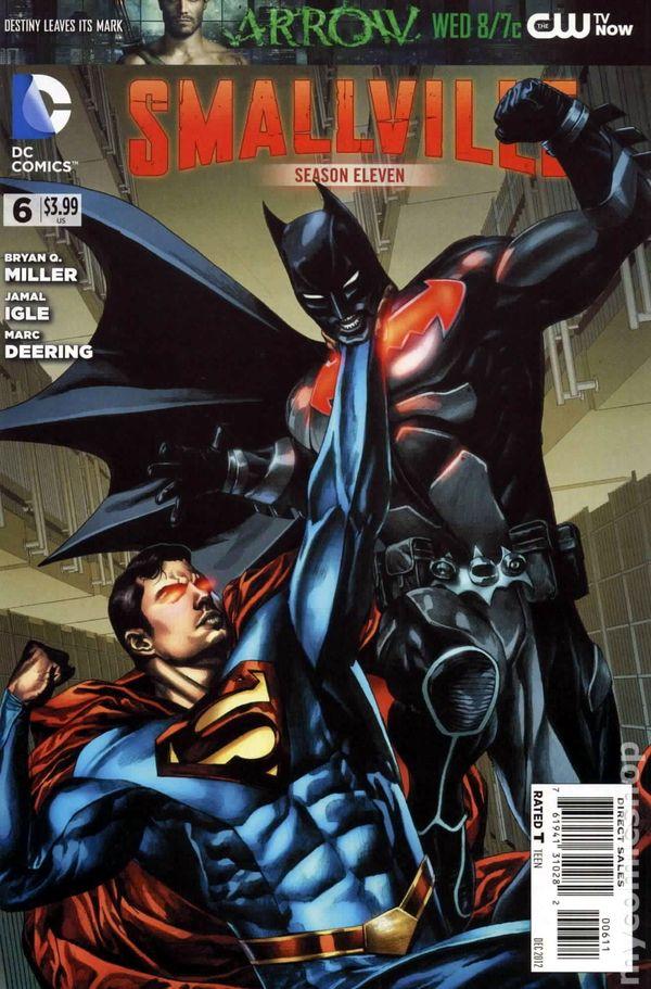 Smallville Season 11 2012 DC comic books