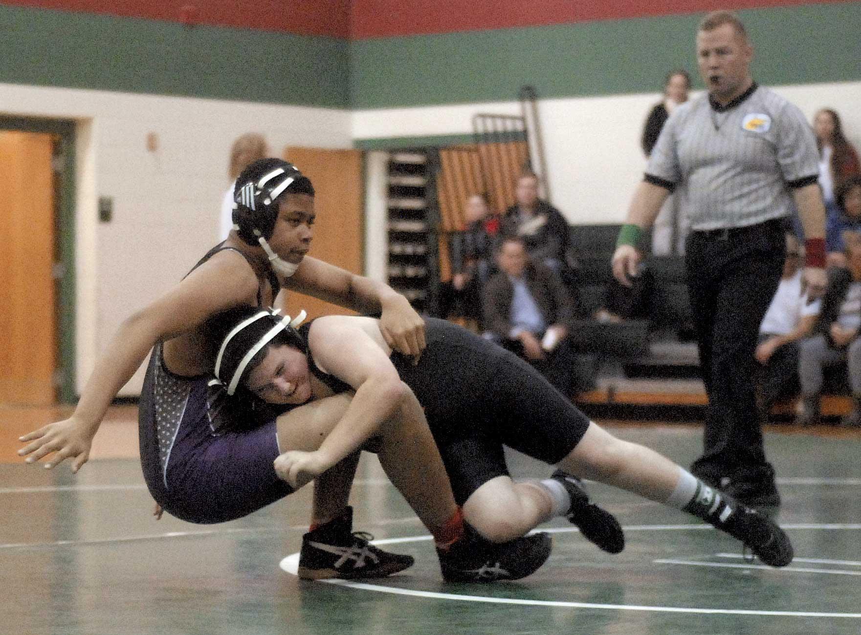 Middle School Wrestling Debuts