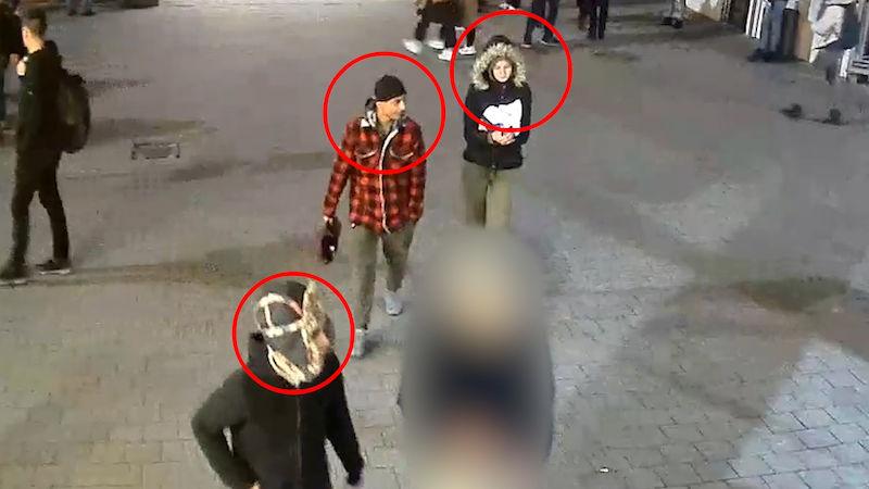 Napadení mladíka na Florenci