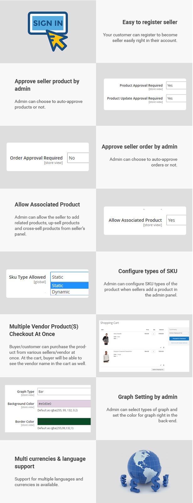 Magento 2 Marketplace Multi Vendor Module - 19