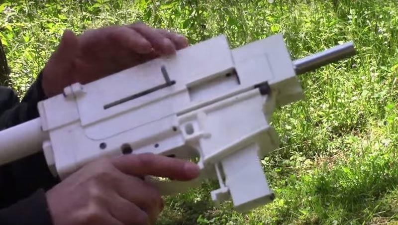 Shuty Hybrid 3D Printed 9mm Pistol _01