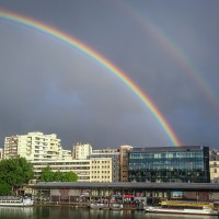 paris double rainbow