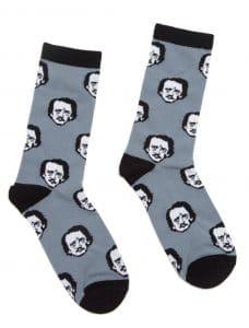 Edgar Allan Poe Socks