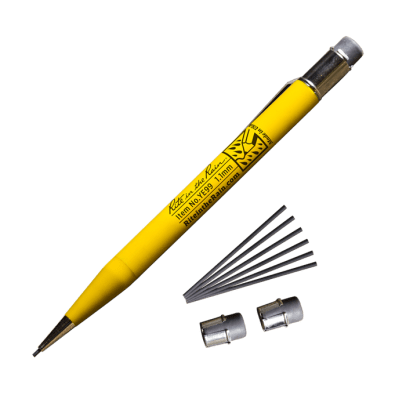 This is an image of a mechanical pencil with lead