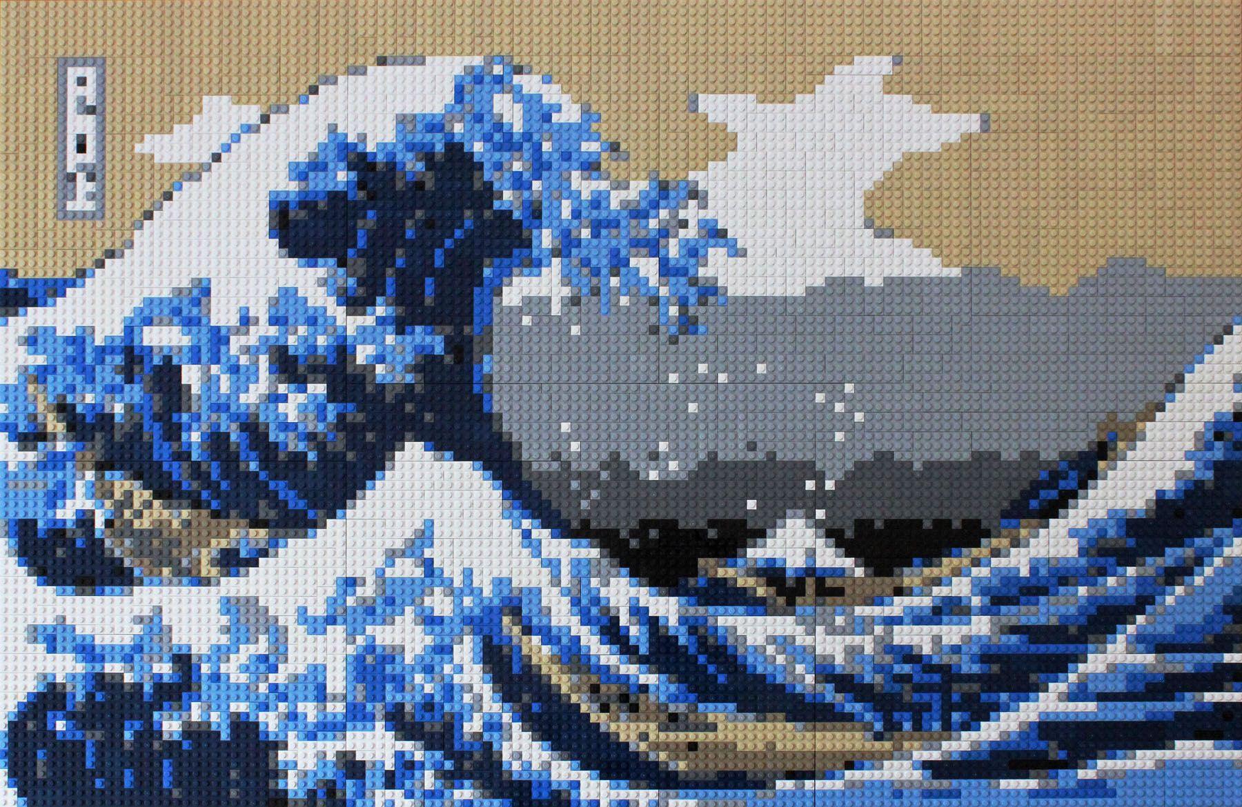 LEGO Mosaics Keith Orlando