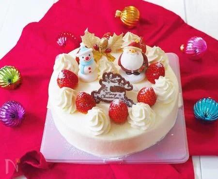 クリスマスケーキ〜ナッペの裏ワザ教えます!
