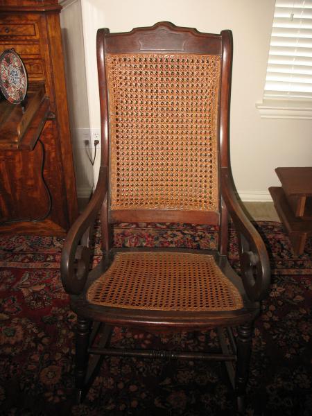 Antique Lincoln Rocking Chair Antique Appraisal