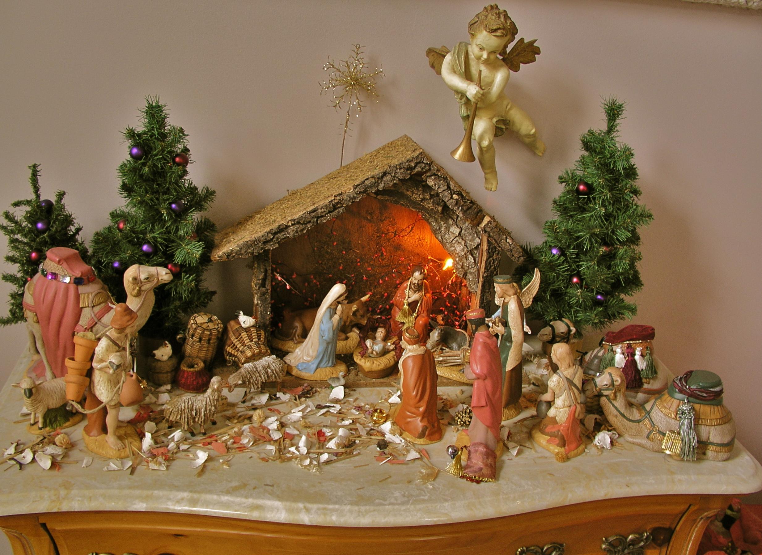 Worksheet Christmas Nativity Printable
