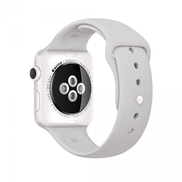 Apple Watch Edition  38mm White Ceramic Case with Cloud Sport Band         Apple Watch Edition  38mm White Ceramic Case with Cloud Sport Band