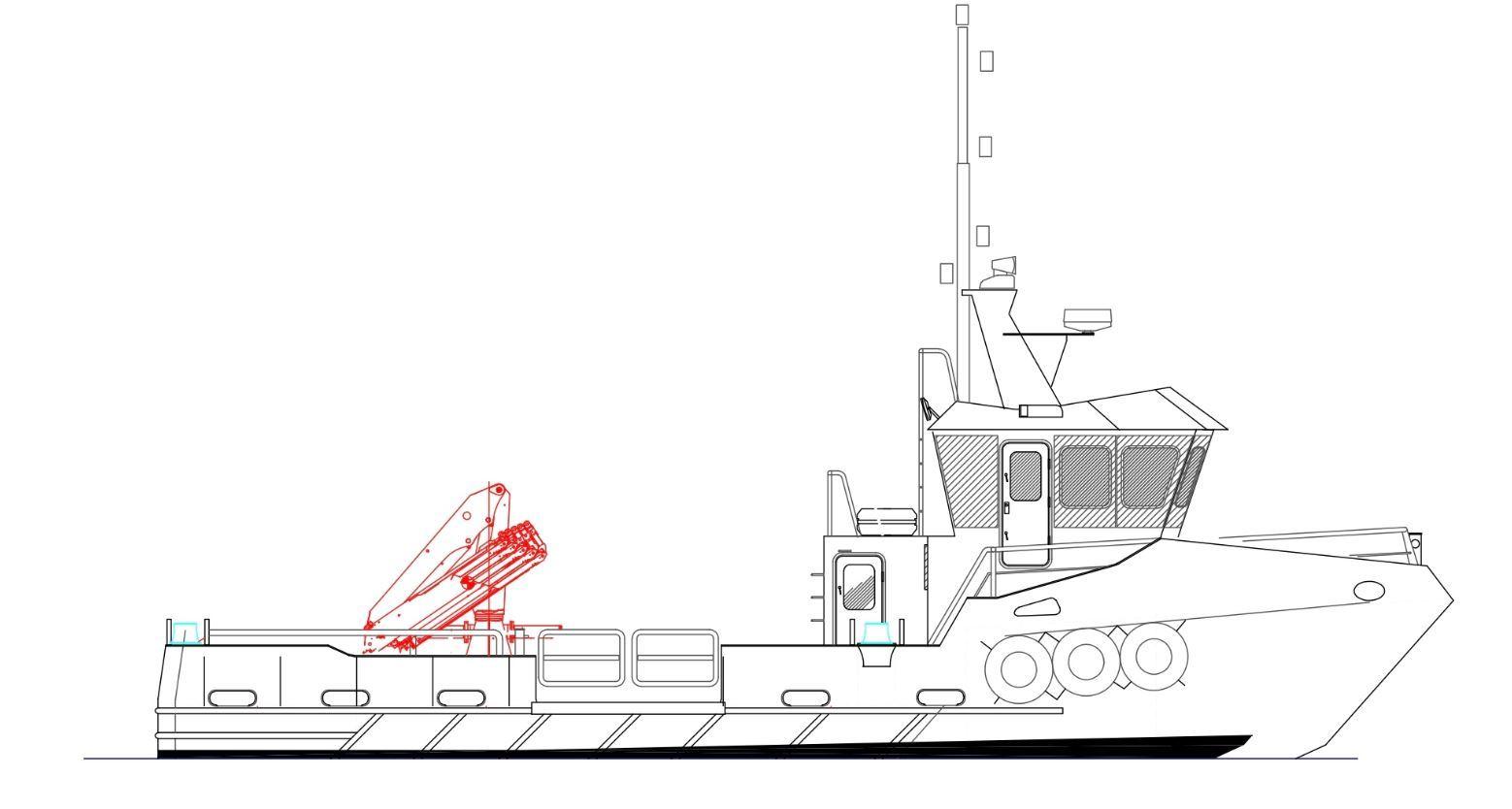 Highlands Built Boat Takes Shape For Scottish Sea Farms
