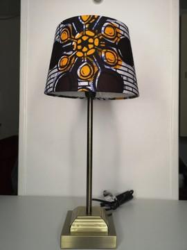 lampes et bougies abats jours africains