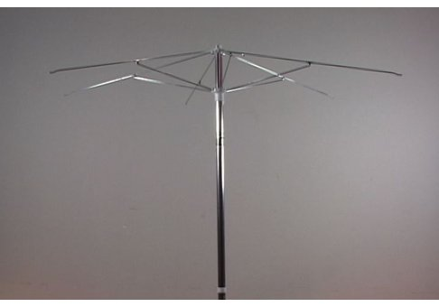 75 Aluminum Patio Umbrella With Steel Ribs Frame Only