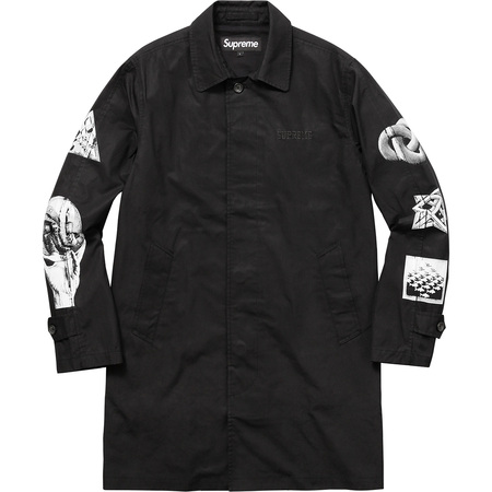 M.C. Escher Trench Coat (Black)