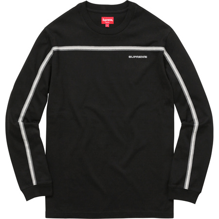 Full Stripe L/S Tee (Black)