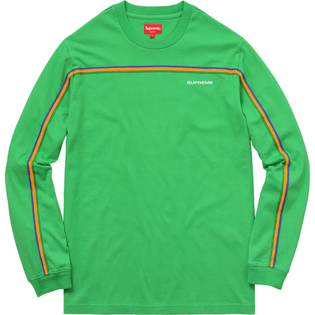 Full Stripe L/S Tee (Green)