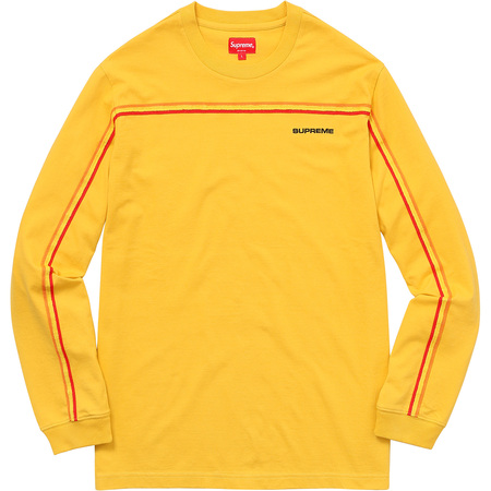 Full Stripe L/S Tee (Yellow)
