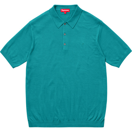 Knit Polo (Teal)