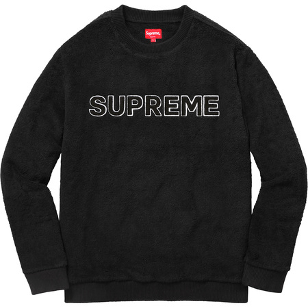 Terry Crewneck (Black)