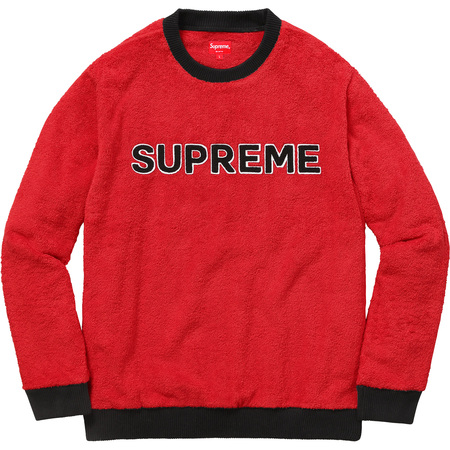 Terry Crewneck (Red)