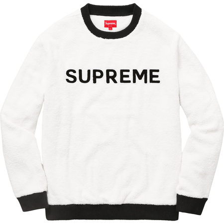 Terry Crewneck (White)
