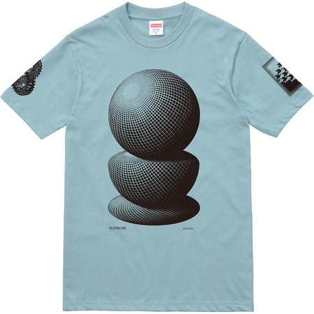 M.C. Escher Three Spheres Tee (Slate)