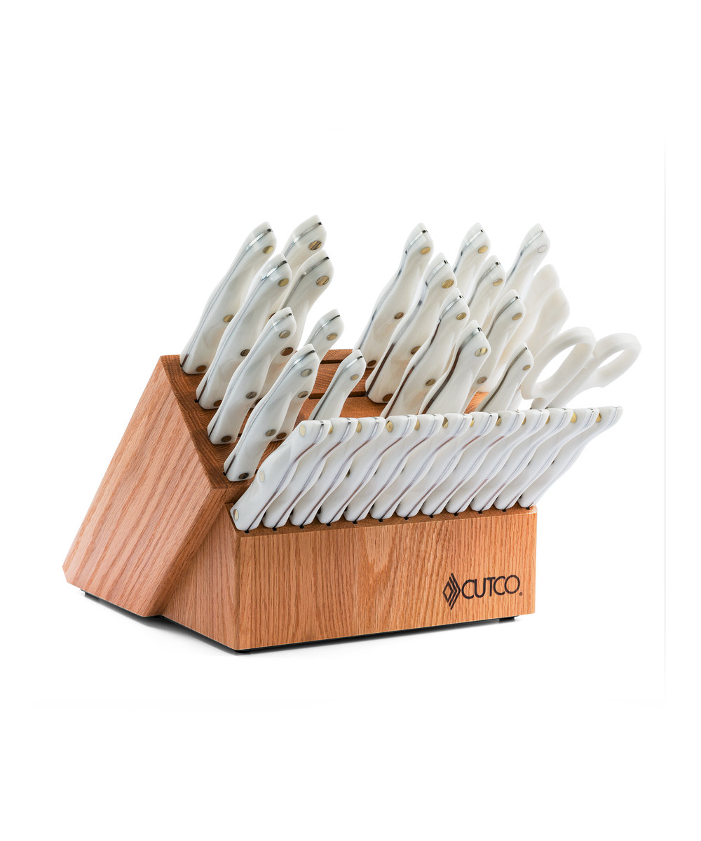 Kitchen Knife Set Pearl