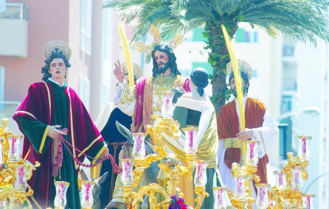 Imagen de archivo de la Semana Santa de Cádiz