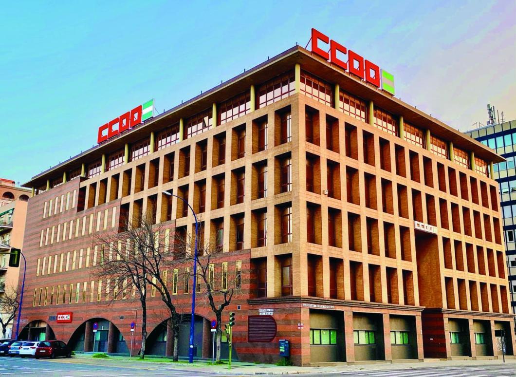 La sede de CCOO en Sevilla. CCOO