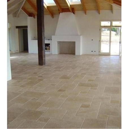 travertine tile antique pattern sets