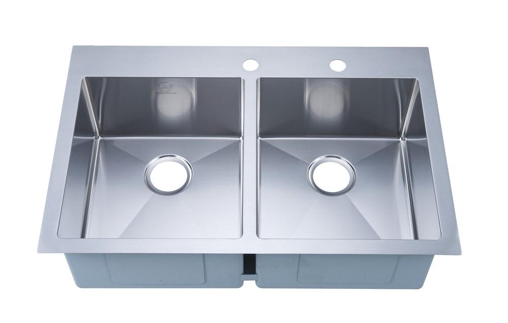Artika Black Kitchen Double Granite Sink 6040 Kitchen