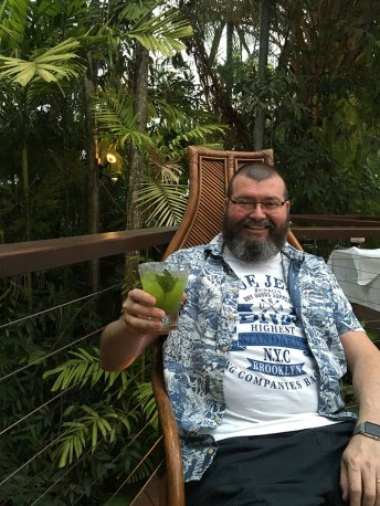 David Basil Gin Smash Nautilus Port Douglas