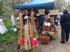 Bag stall Warrandyte Market