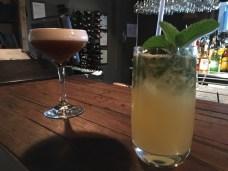 Expresso Martini and Spicy Mojito - Olivigna