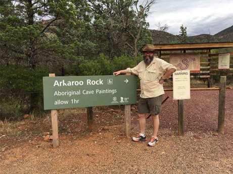Arkaroo Rock Sign David