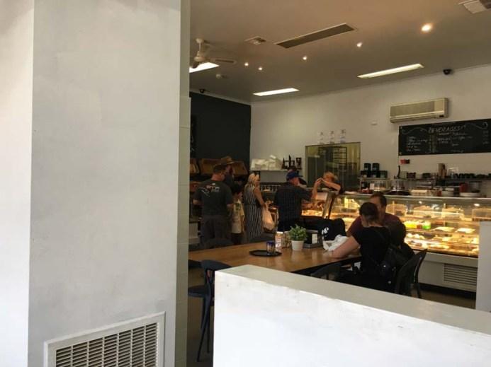 Daylesford Bakery inside