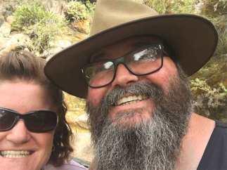 David and Megan Eurobin Falls