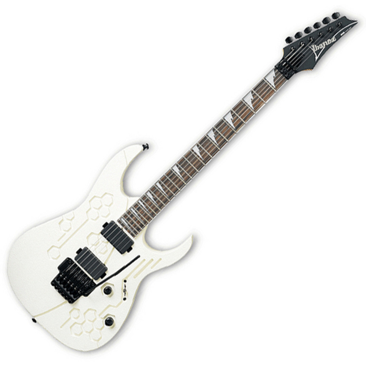 Ibanez Rg420eg Electric Guitar White Beehive At Gear4music