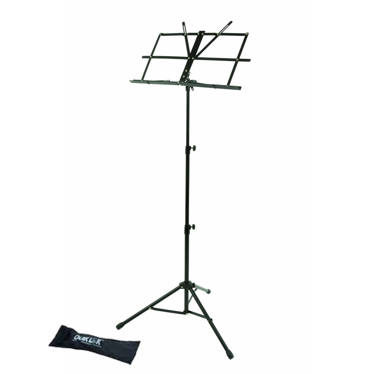 Quiklok Medium Weight Music Stand With Nylon Carrying Bag