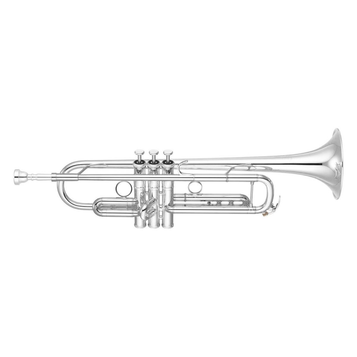 Yamaha Ytr G Xeno Trumpet Silver Plate Reverse