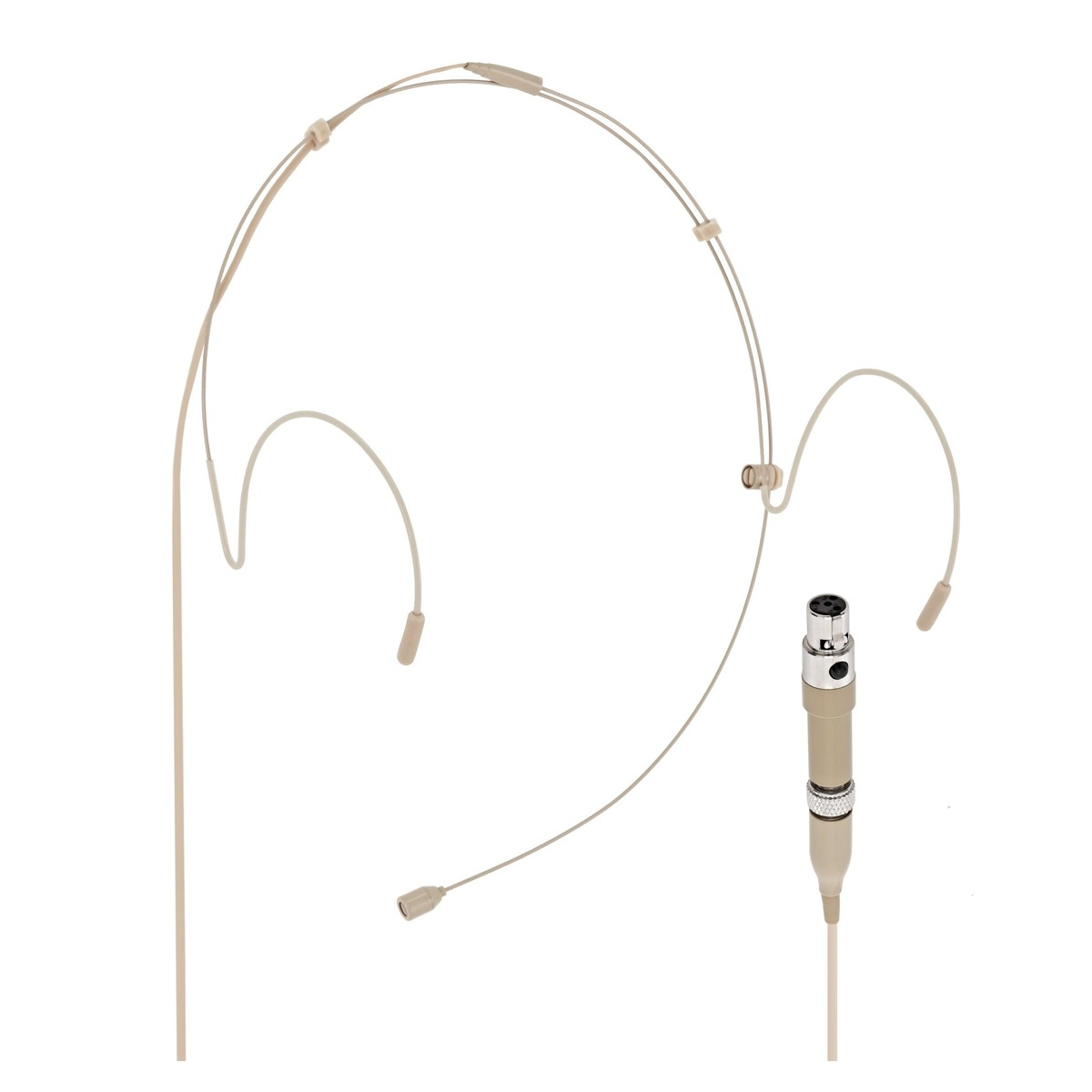 Subzero Headset Microphone With Shure Style Connector Tan At Gear4music