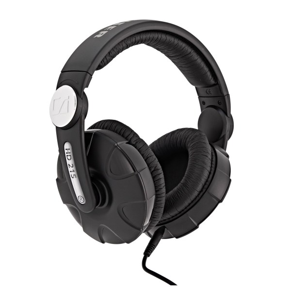 Sennheiser HD 215 II Closed DJ Headphones at Gear4music.com