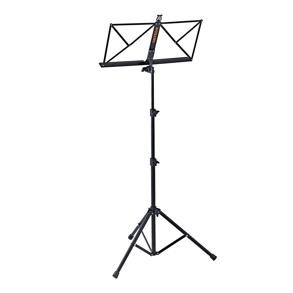 Ortega Oms 1bk Portable Music Stand Black At Gear4music
